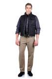 Человек в взгляде моды Стоковая Фотография RF