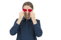Человек в влюбленности Стоковое фото RF
