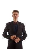 Человек в костюме стоковое изображение