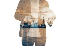 Человек в силе стоковая фотография rf