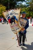 Человек в чилийской одежде Стоковое Фото
