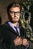 Человек в элегантном костюме Стоковые Фото