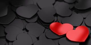 человек влюбленности поцелуя принципиальной схемы к женщине Стоковая Фотография RF