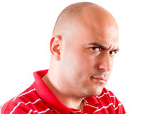 Человек гнева Стоковые Изображения