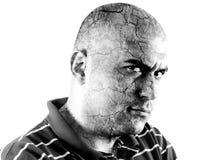 Человек гнева Стоковое Изображение RF