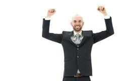 человек дела успешный Стоковые Фотографии RF