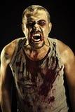 Человек зомби Стоковое фото RF