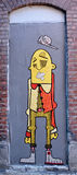 Человек искусства улицы странный Стоковая Фотография RF