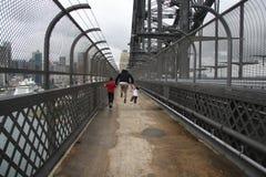 Скакать над мостом гавани Стоковое Изображение