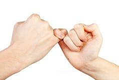 Жест рук. Стоковые Изображения