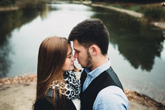 Человек и женщина Стоковое Изображение
