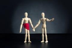Человек и женщина Стоковые Фото