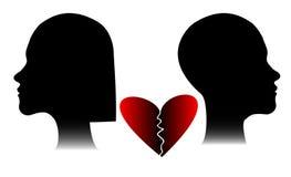 Человек и женщина Стоковое фото RF