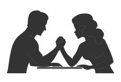 Человек и женщина Стоковые Изображения