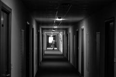 Человек и темнота Стоковые Изображения RF