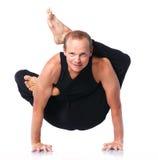 Человек йоги Стоковые Изображения
