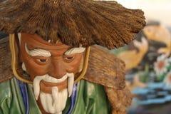 Человек китайца статуи Стоковое фото RF