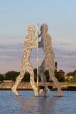 Человек молекулы - Берлин Стоковое Изображение