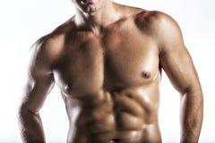 Человек мышцы Стоковые Фото