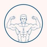 Человек мышцы Стоковое Фото