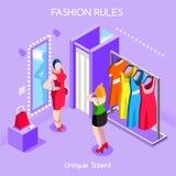 01 человек настроений моды равновеликое Стоковые Фотографии RF