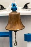 Человек над колоколом bord Стоковые Фотографии RF