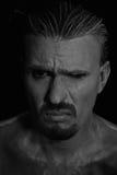 человек несчастный Стоковое фото RF