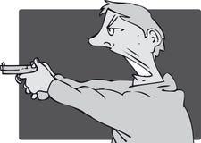 Человек оружия Стоковые Фото