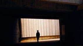 Человек от темноты Стоковые Фотографии RF
