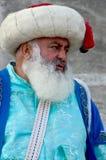 Человек одетый как тахта стоковая фотография rf