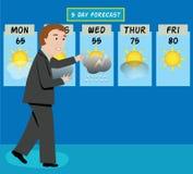 Человек погоды Стоковые Фото