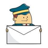 Человек почты Стоковое Изображение