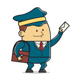 Человек почты Стоковые Фотографии RF