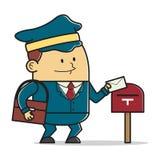 Человек почты Стоковая Фотография RF
