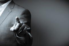 человек предпосылки изолированный делом над белизной стоковая фотография rf