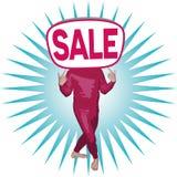 Человек продажи Стоковые Изображения