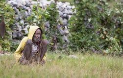 Человек племени Dani Стоковые Фото