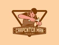 Человек плотника Стоковое Фото