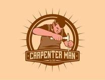 Человек плотника Стоковые Фото