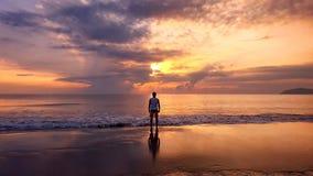 Человек пляжа Стоковые Изображения RF
