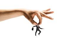 Человек руки заразительный Стоковые Фото