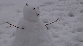 Человек снега Стоковое фото RF
