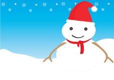 Человек снежка Стоковые Фото