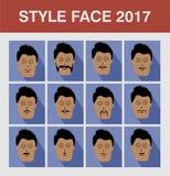 Человек стороны стиля Стоковые Фотографии RF