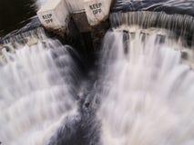 Человек сделанный воду упасть Стоковое фото RF