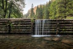 Человек сделал водопад Стоковые Фотографии RF