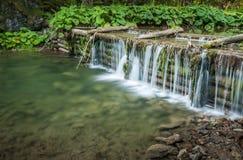 Человек сделал водопад Стоковая Фотография