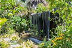Человек сделал водопад Стоковое Фото