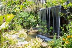 Человек сделал водопад Стоковые Изображения RF