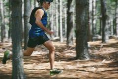 Человек следа фитнеса Стоковые Фото